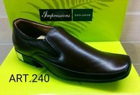 Leather Office Formal Shoes With P. U. Sole (Impressions Moccasions 240)