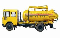 Efficient Sewer Suction Machine