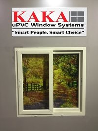 UPVC Two Track Sliding Window System