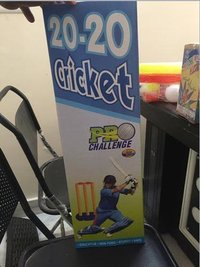Cricket Fever Plastic Cricket Bat Toys