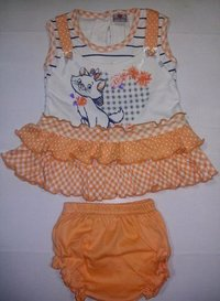 Babies 2 Pc Frock With Panty