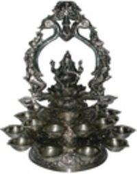 Silver Pooja Diya