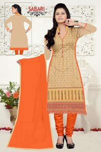 Designer Cotton Ladies Suit