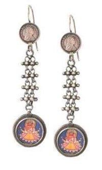 Ganesha Hanging Earring