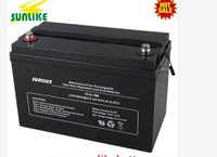 Agm deep cycle ups solar power battery
