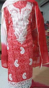 Designer Unstitched Ladies Suit