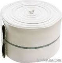 Canvas Hose With Rubber Lined For Water Delivery And Fire Fighting Purpose