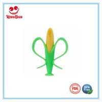 2 Colors Corn Baby Teether