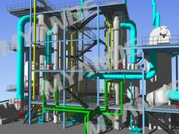 Food/Beverage/Chemical/Pharmaceutical/Organic Products Evaporation and Drying Plant