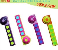 Doorbell Shaped Children Toy Push Button Electronic Sound Bar