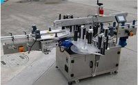 Automatic Glass Round Bottle Adhesive Sticker Labeling Machine