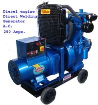 Commercial Mobile Welding Generator