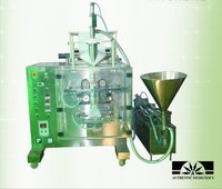 Automatic Form Fill Seal Machine Collar Type Volumetric Piston Filler
