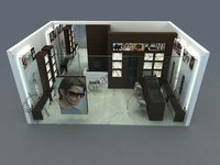 Optical Modular Showroom