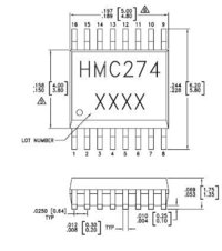 Electronic Component (HMC274QS16ETR)