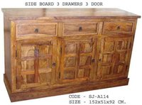 Designer Wooden Side Board