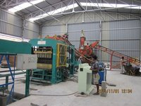 Automatic Cemented Fly Ash Paver Locking Machine
