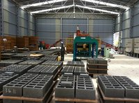 Automatic Fly Ash Hollow Block Making Machinery