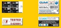 Continuous Serial Number Stickers