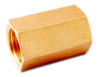 Hex Socket, Brass Hex Long-Nut