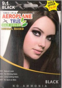 Aeroplane Black Hair Colour