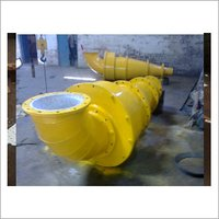 Alumina Ceramic Lined Ash Pump Volute Casing