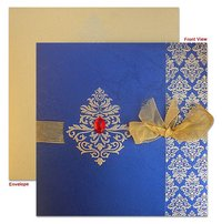 Designer Hindu Wedding Invitation Cards