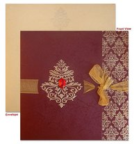 Designer Muslim Wedding Cards