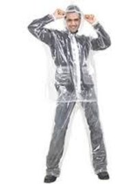 Clear Plain Raincoat
