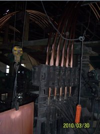 Upward Continuous Casting Machine For Copper Tube