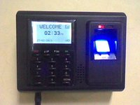 Card And Thumb Impression Time Attendance System
