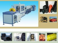 Pe Carbon Spiral Reinforcing Pipe Production Machine