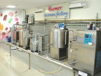 Ice Cream Processing Plant