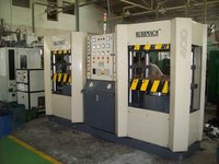 Double Station Rubber Molding Hydraulic Press