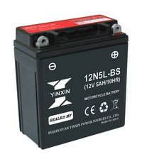 12v 5ah Motorcycle Battery