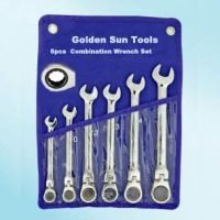6PC Flex Gear Wrench Set