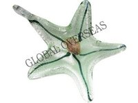 Glass Antique Star Pendants