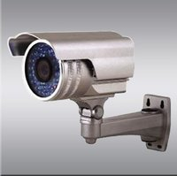 Outdoor Waterproof IR Color CCD Camera With 4 - 9mm Varifocus Lens