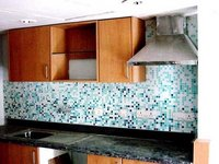 Glass Mosaic Kitchen Tiles