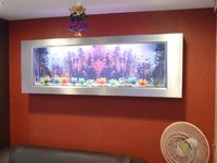 Slim Wall Mounted Photo Frame Aquarium