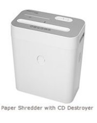 Paper Shredder With CD Cutter