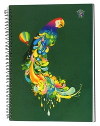 Spiral Notebook A4