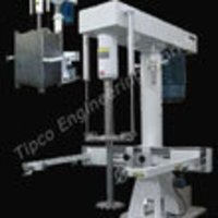Dispersing Machine With Belt Clamp