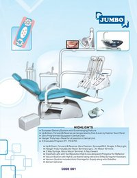Jumbo Fully Electronic Single Programmable Dental Chair