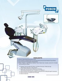 Posch Dental Chair Electronic Dental Chair