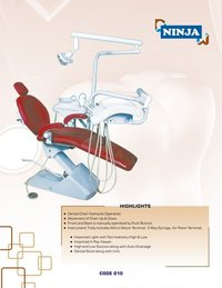Hydraulic Operated Dental Chair Ninja