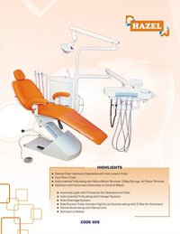 Hazel Hydraulic Operated Dental Chair With Instrument Trolley