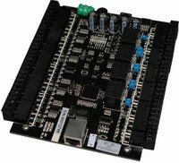 TCP/IP 4 Doors Access Control Board