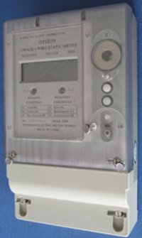 Three-phase Four-wire Element kWh Energy Meter