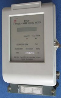 Three Phase Four-Wire Element Kwh Energy Meter